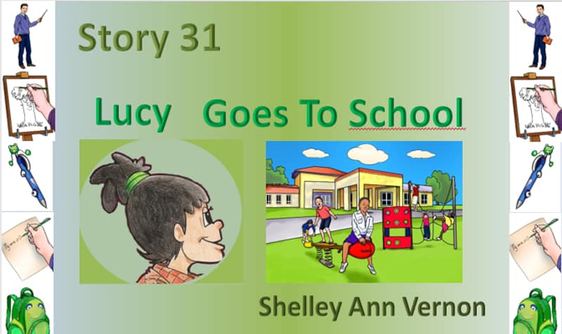 Lucy goes to school ESL story
