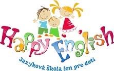 Happy English Language School Logo