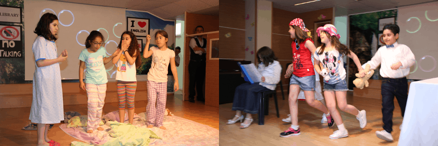 kids acting two skits by shelley ann vernon