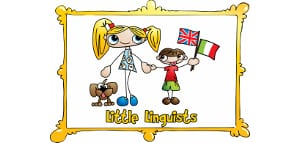 Little Linguists language school logo, Italy