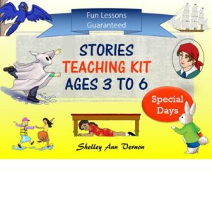 product cover for special days stories for ages 3 to 6 by Shelley Ann Vernon
