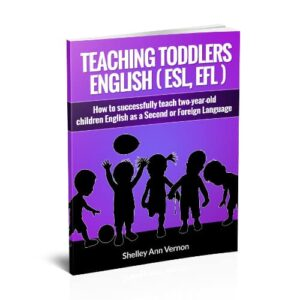 teaching toddlers by shelley ann vernon book cover